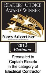 Reader's Choice Award 2013