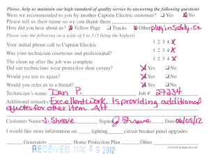 Customer Comment Cards - 27234